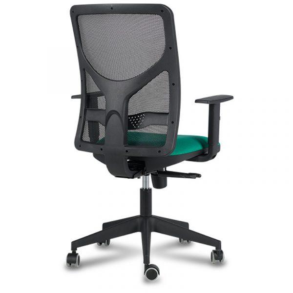silla XARLY sincro verde negra