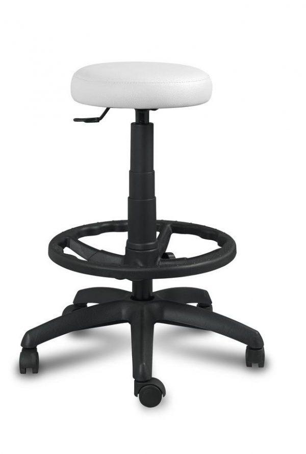Taburete aspirina asiento tapizado