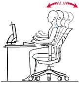 Sillas de escritorio y oficina ergonomicas entornostore posición respaldo regulable