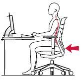 Sillas de escritorio y oficina ergonomicas entornostore posición lumbar