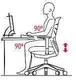 Sillas de escritorio y oficina ergonomicas entornostore posiciones