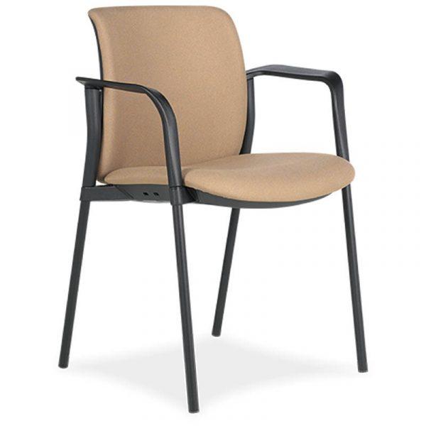 SILLA zoe 6 respaldo y asiento tapizado