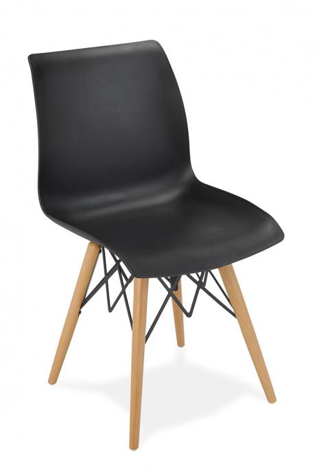 Silla 1710 color negro
