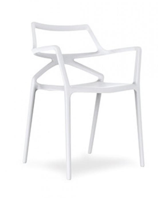 Silla V2 DELTA color blanco