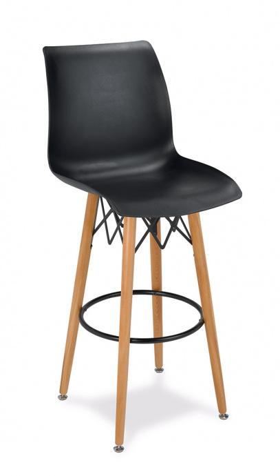 Taburete M 5710 color negro