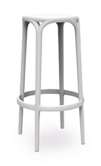 Taburete V5 brooklyn color blanco