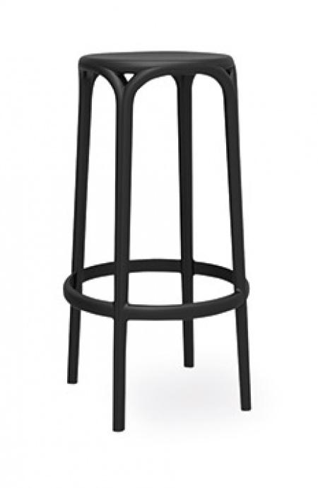 Taburete V5 brooklyn color negro