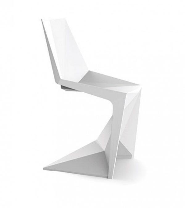 Silla modelo V1 Oxel blanca